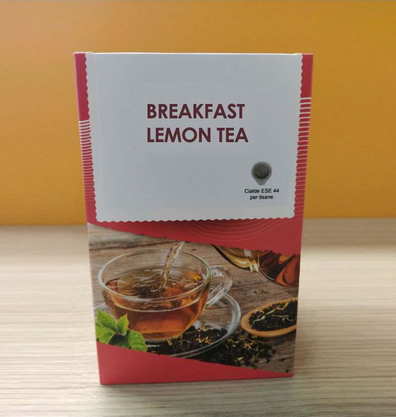 Breakfast Lemon Tea - Biologico (18 cialde da 44mm)