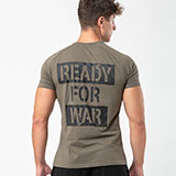 Fitcult T-shirt Ready for War Militare - uomo - M